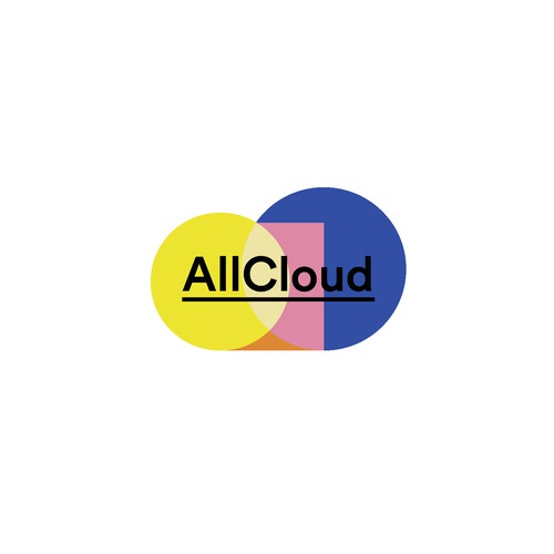 A different and clear logo for Cloud solution company