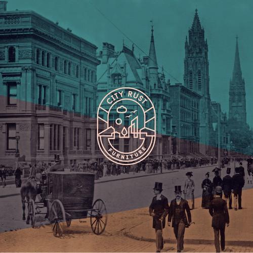 City Rust - Logo & Business Card design proposal