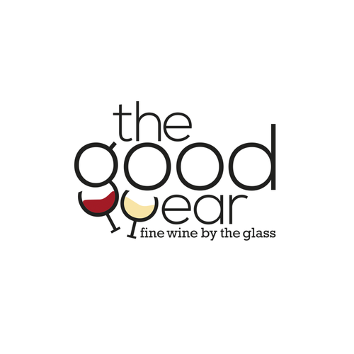 Logo for a simple modern wine bar in central London