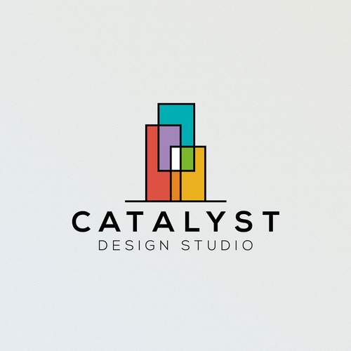 Clear logo concept for Catalyst Design Studio