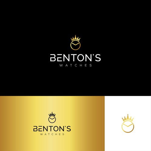 Elegant logo for my used luxury watch selling business