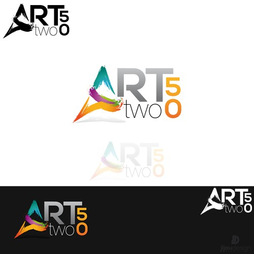 Create the next logo for ARTtwo50