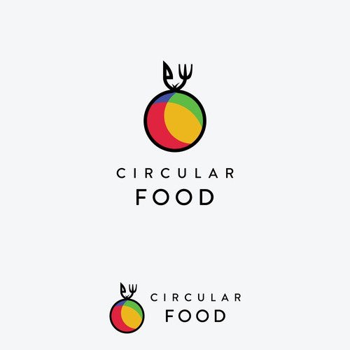 "Logo concept for ""Circular Food"""