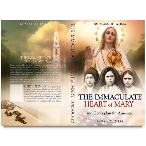 Book cover THE IMMACULATE HEART OF MARY