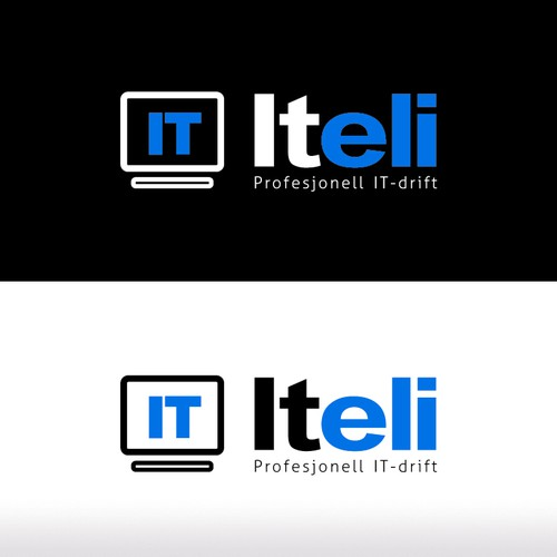 Help Iteli (it company) with a new Logo Design