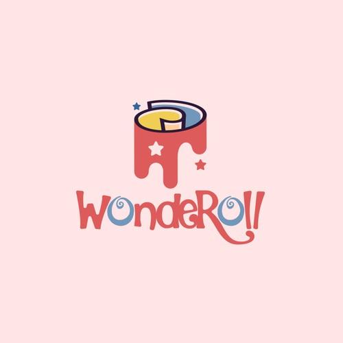 Fun logo for Wonderoll