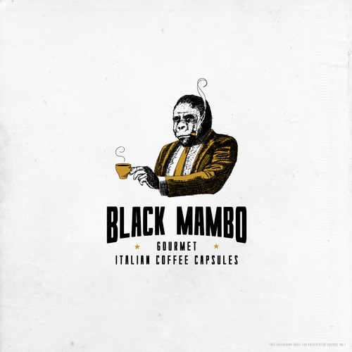 Design a dark, edgy & luxurious logo for Black Mambo