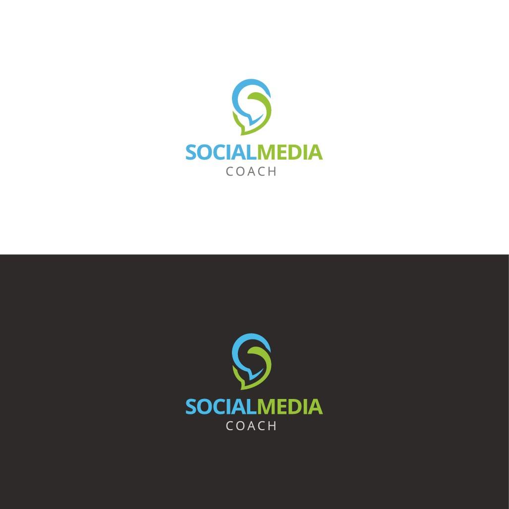 Logo für einen Social Media Coach!