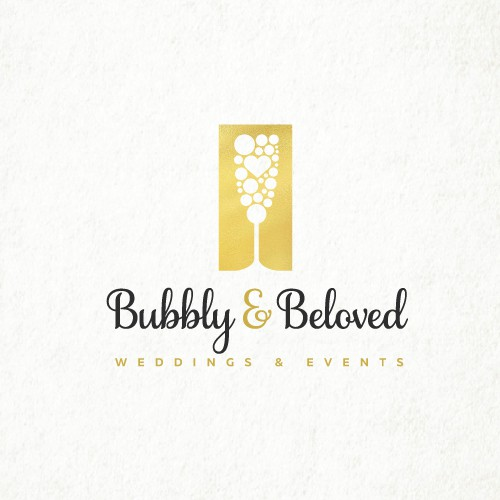 Elegant design for wedding planning, coordinating, and decor business