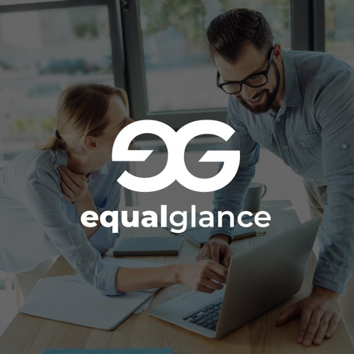 Modern Logo for EqualGlance