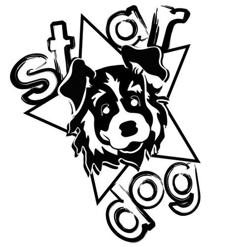 Star Dog Gives T-shirt
