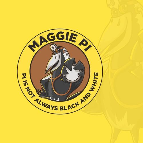 Magpie Mascot
