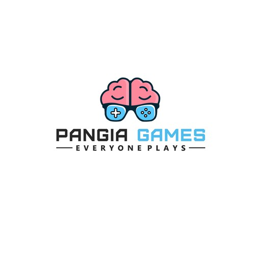 Logo design for Pangia Games