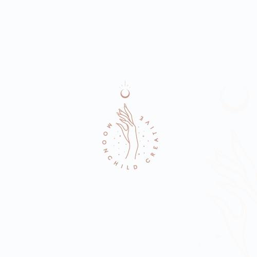 Moonchild creative logo design