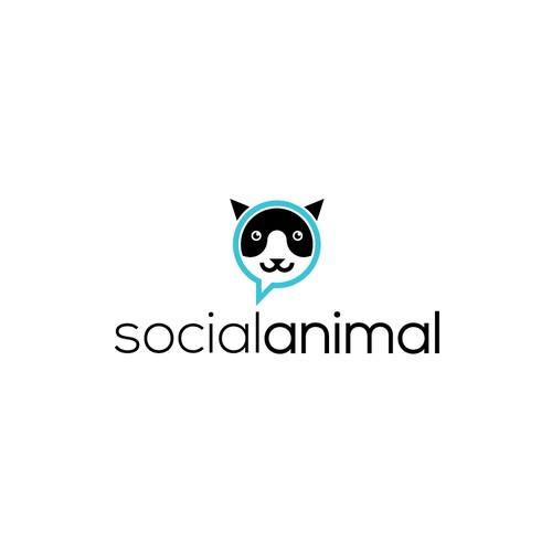 Logo concept for social animal :-)