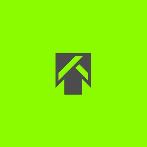 Geometric T letter