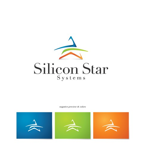 logo and business card for Silicon Star Systems