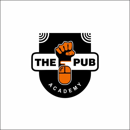 logo for the pub academy