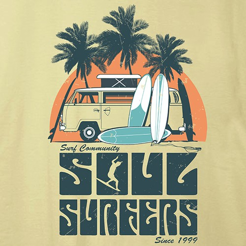 soul surfer t-shirt