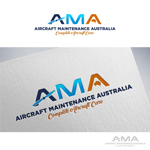 Aircraft maintenance company' logo