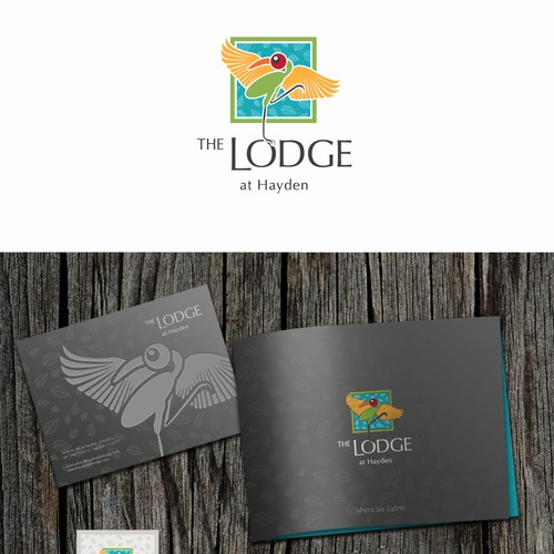 The Lodge at Hayden needs a new logo and business card