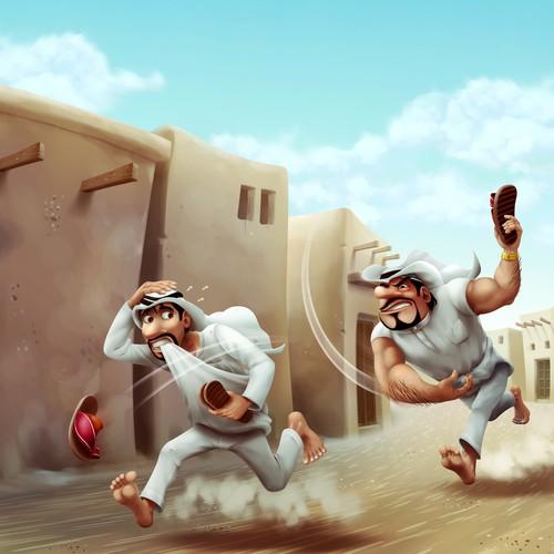 Mafia and Poor Arabs making a scene