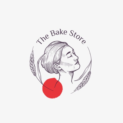The Bake Store logo concept