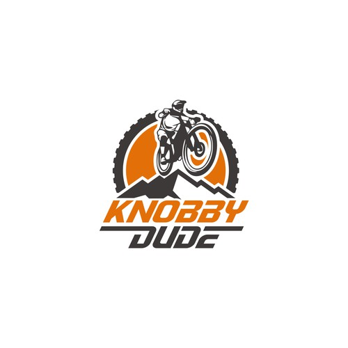 Dirt, Sport, Bike logo concept