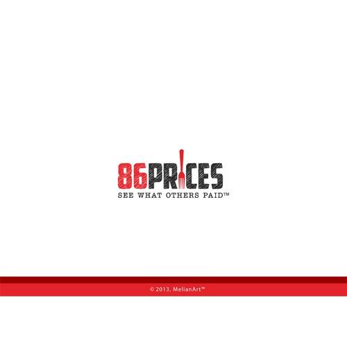 Create a winning logo design for 86prices.com