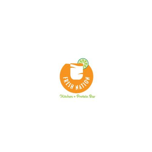 Logo concept for Fresh Nation
