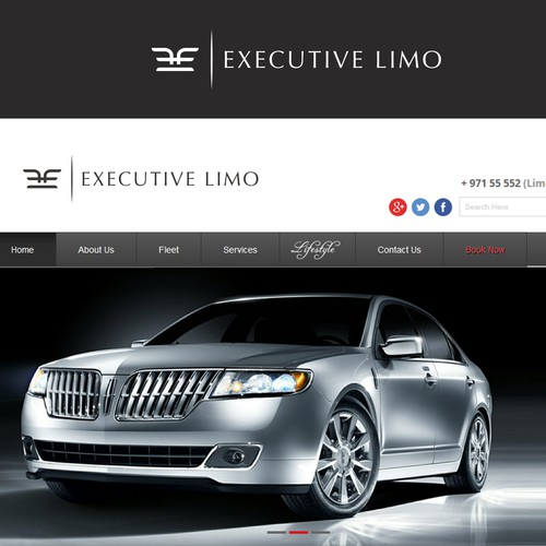 Logo for Executive Limo