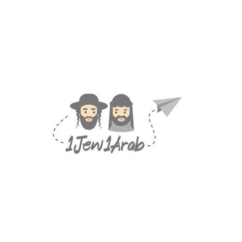 Logo for comedy duo