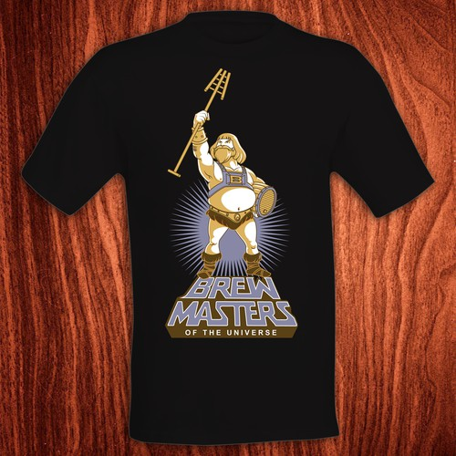 Brew Masters T-shirt design