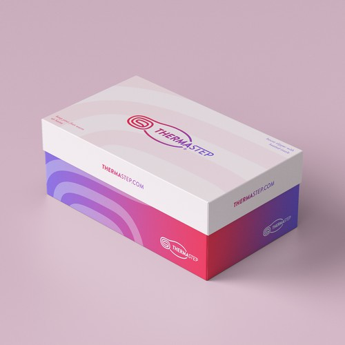ThermaStep (retail box design) - Keep your feet warm at home!