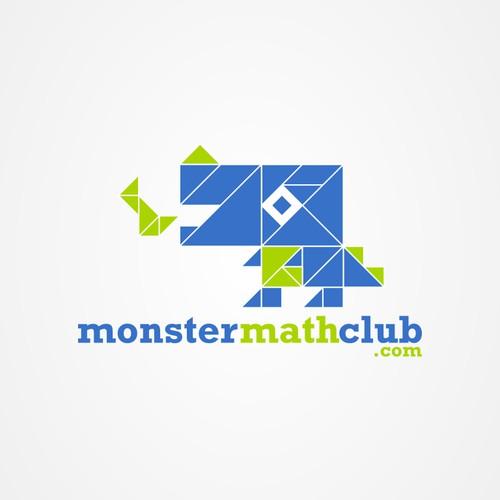 Create the next logo for Monstermathclub.com