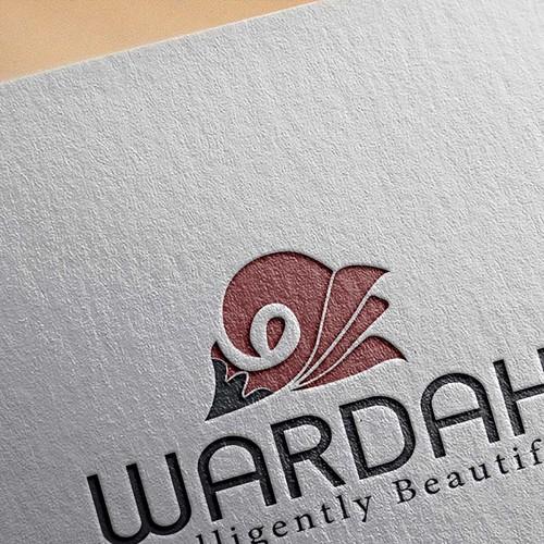 wardah, cosmatics logo