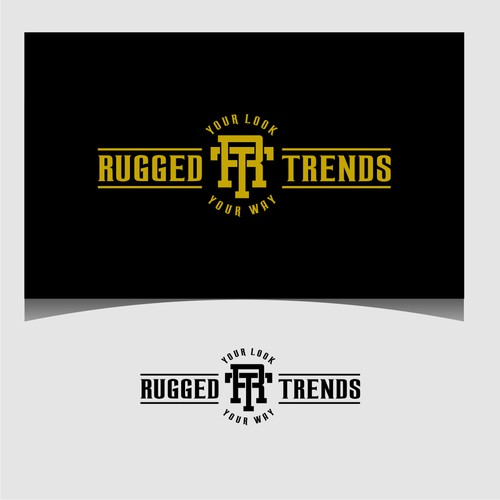 Create a Stylish and creative design for Rugged Trends Clothing