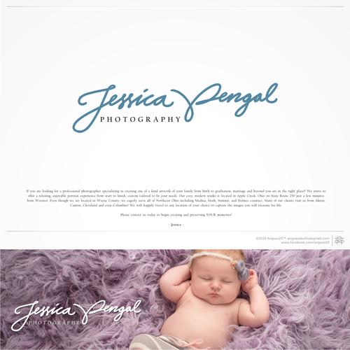 Create a Custom Artist Signature for a Jessica Pengal Photographer