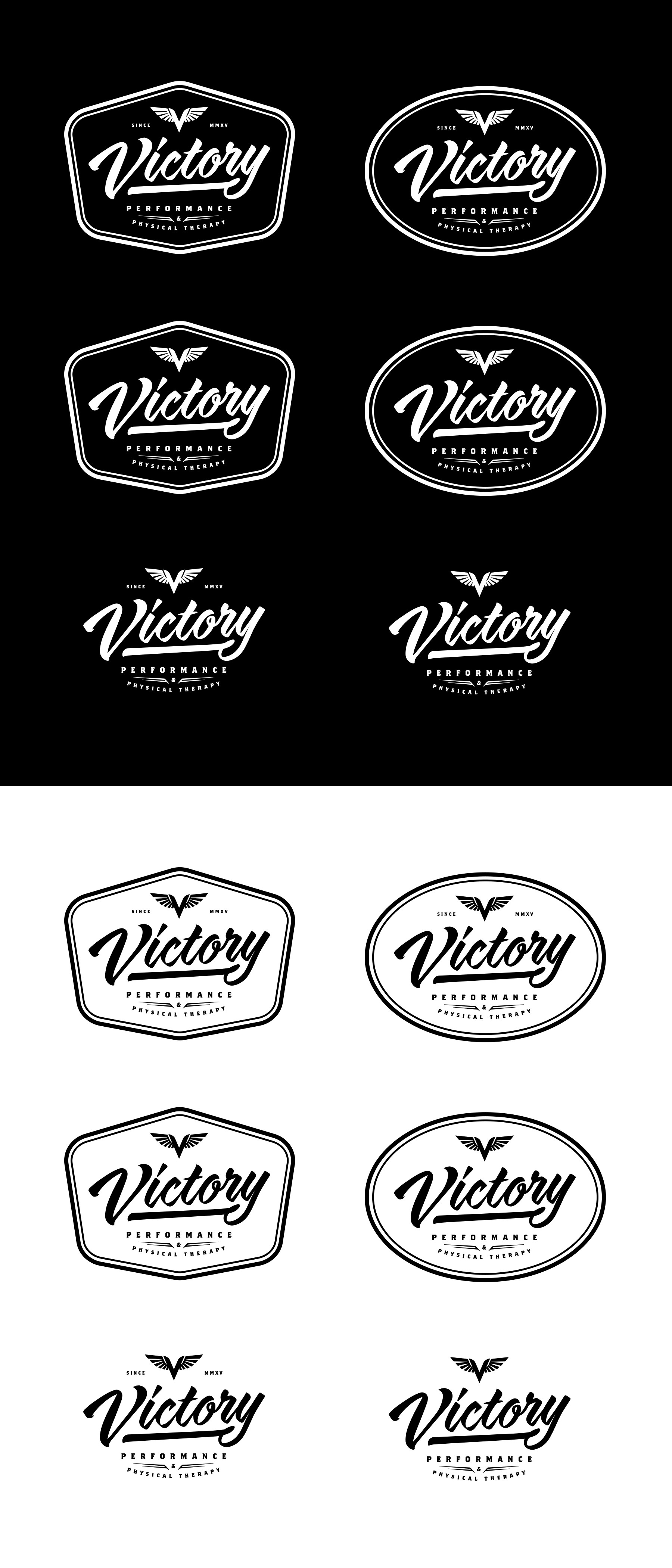 Show your strength and create a classic logo for Victory Performance and Physical Therapy!