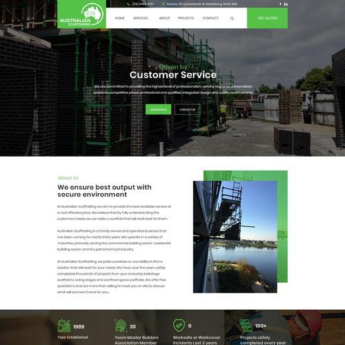 Design for Australian Scaffolding