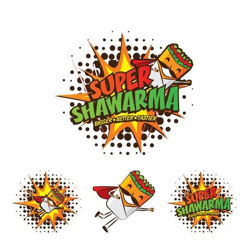 logo for Super Shawarma