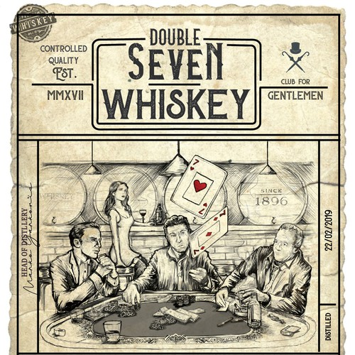 Double Seven Whiskey
