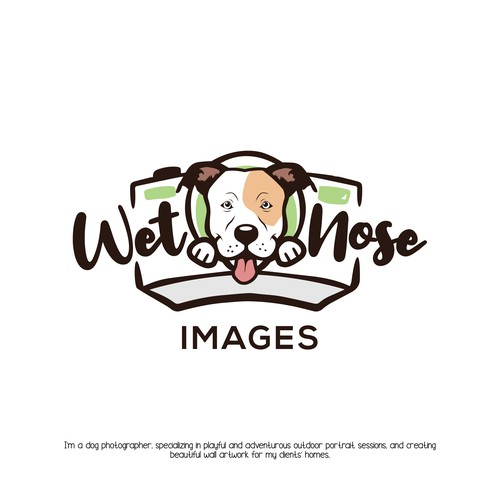 Fun logo for pet photography