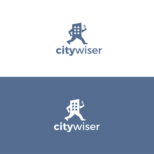 bold logo for Citywiser website