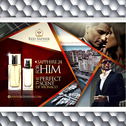 Poster for Red Saphir Mens Perfume