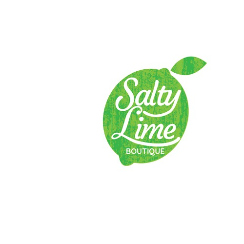 A lime logo for a boutique