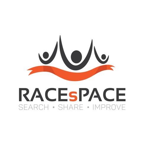 Logo for a social media website for athletes
