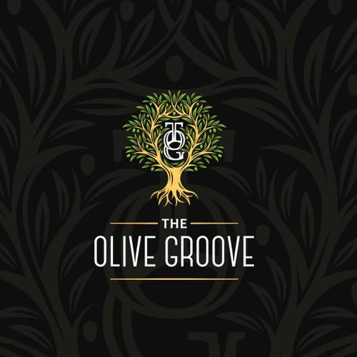 Logo concept for olive oil producer