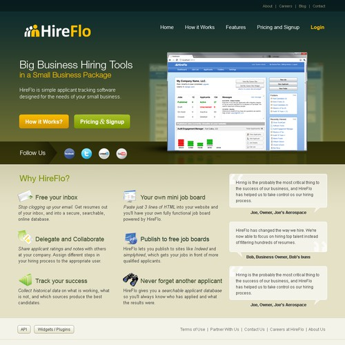 HireFlo Marketing Website