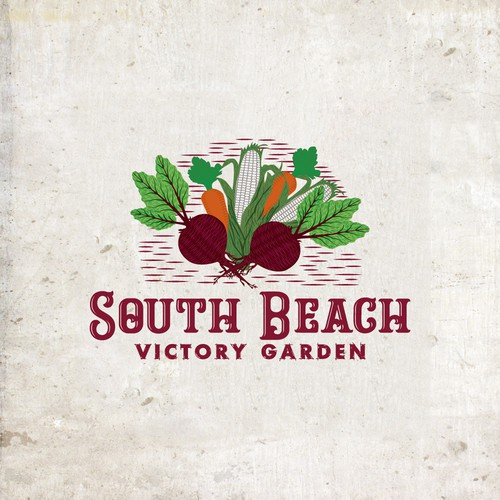Create the killer logo for the one and only community garden in South Beach, Florida!